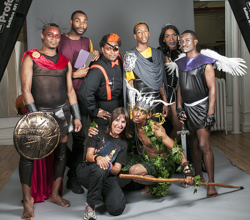 HIV Warriors photo shoot